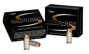 Speer 38 Special +P 135 Grain Gold Dot Hollow Point - 23921