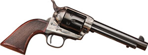 "TAYLORS & CO. INC. 4109DE The Smoke Wagon Deluxe 45 Colt 4.75"" 6 Che - 4109DE"