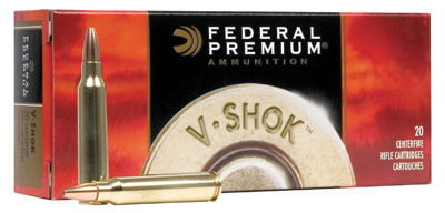 Federal Premium 22-250 Remington 55 Grain Sierra
