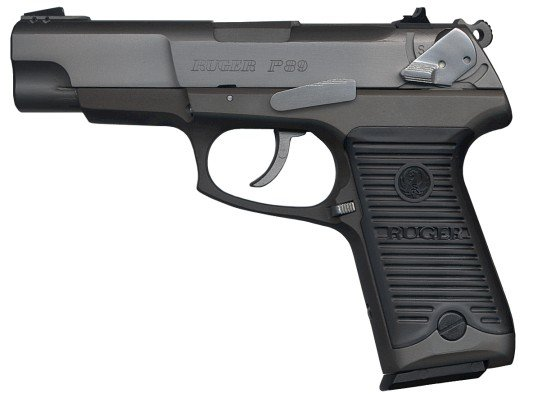 Ruger P 85 89 90 91 with Silver Punisher