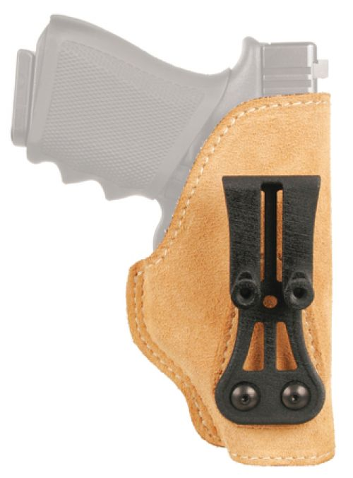 Leather Tuckable Holster Brown Right Hand Kel-Tec/Kahr/Ruger 380