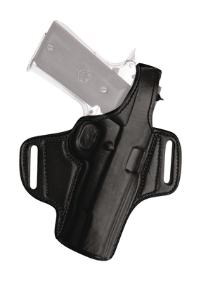 Thumb Break Leather Belt Holster for Kel-Tec 380/Ruger 380 With