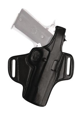 Thumb Break Leather Belt Holster for Glock