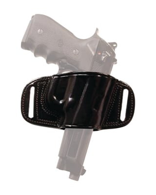 Quick Draw Leather Belt Holster for Glock 17/22/31