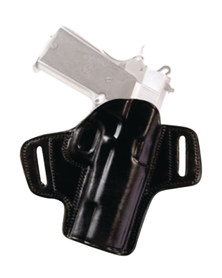 Open Top Leather Belt Holster S&W J Frame 2.1 Inch Right Hand Black ...