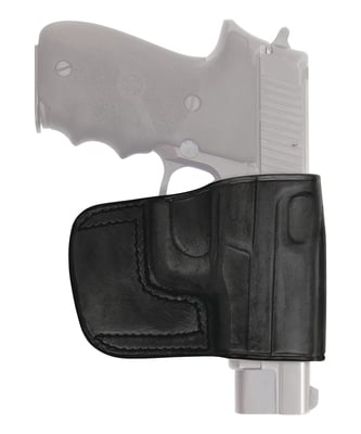Belt Slide Leather Holster 1911 Five Inch Right