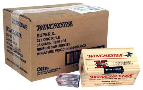 winchester 22lr hp 36gr 1280fps 500 rounds