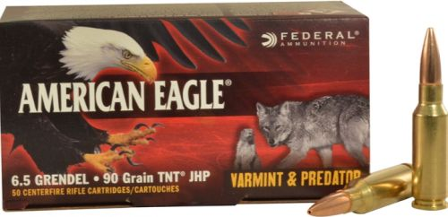 FED AMERICAN EAGLE 6.5GREN 90GR V/P 50/5 $45.84