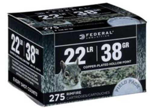 FED .22 LR  HP 38GR CPHP BULK FIELD PK 275/1