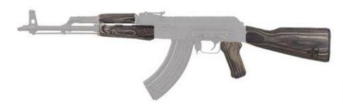 TMBSMTH AK47 WOOD STK SET(BLK LAM)