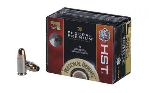FED PRM HST 9MM 150GR JHP 20/200