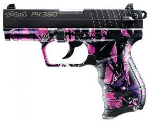 Gun Decal Muddy Girl Camo