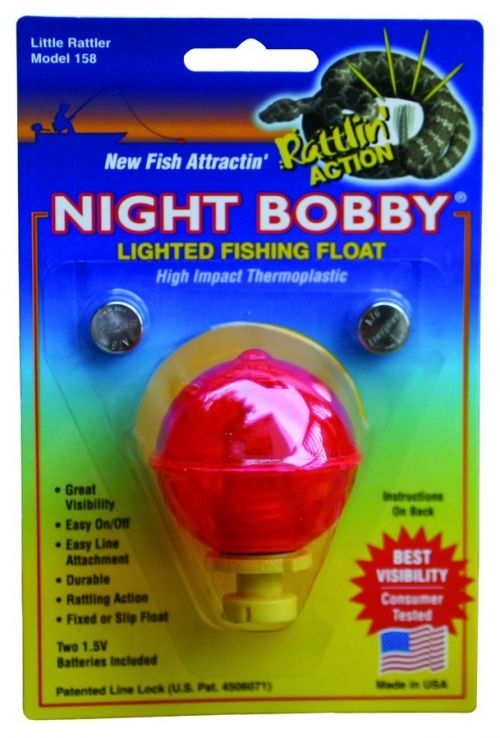 Night bobby lighted fishing floats for Light up fishing bobbers