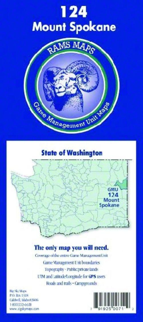 WASHINGTON RAMS GMU MAPS