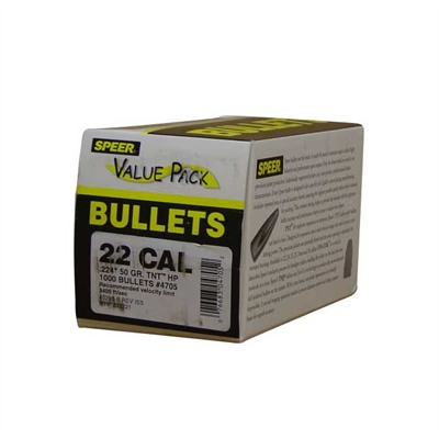 Speer Bullet 50-HP Value Pack