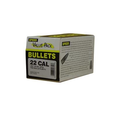 Speer Bullet 224-55 Sptz Value Pack