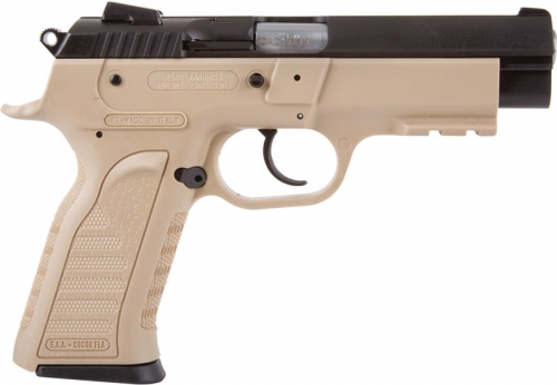EAA TANFOGLIO WITNESS 9MM FDE POLY FRAME