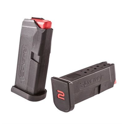 Amend2 Glock 43 6 Round Black Magazine