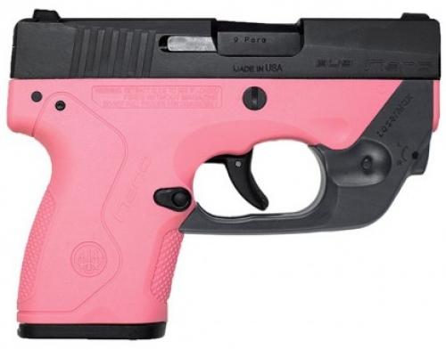 Beretta Nano BU9 9mm Pink w/Laser Max