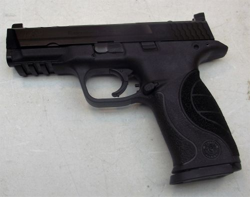 Used smith wesson m p core ported 9mm for M p ported core 9mm