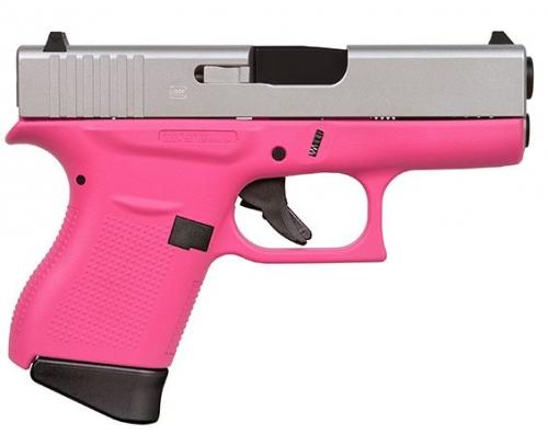 Glock 43 9mm 339 Fs 6r Cerakote Pinkaluminum