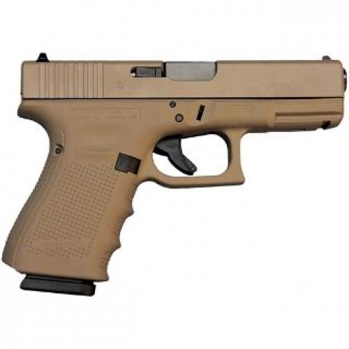 Glock 17 Gen4 9mm 449 Burnt Bronze Cerakote