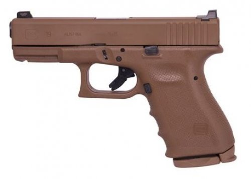 Glock 19 Vickers FDE RTF2 Frame 9mm 15+1 $617.00