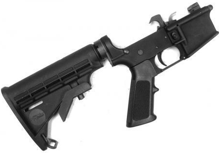 CMMG 90CA360 9mm Lower Receiver w/M4 Stock