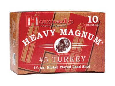 Hornady 86244 Heavy Magnum Turkey Loads 12 ga 3