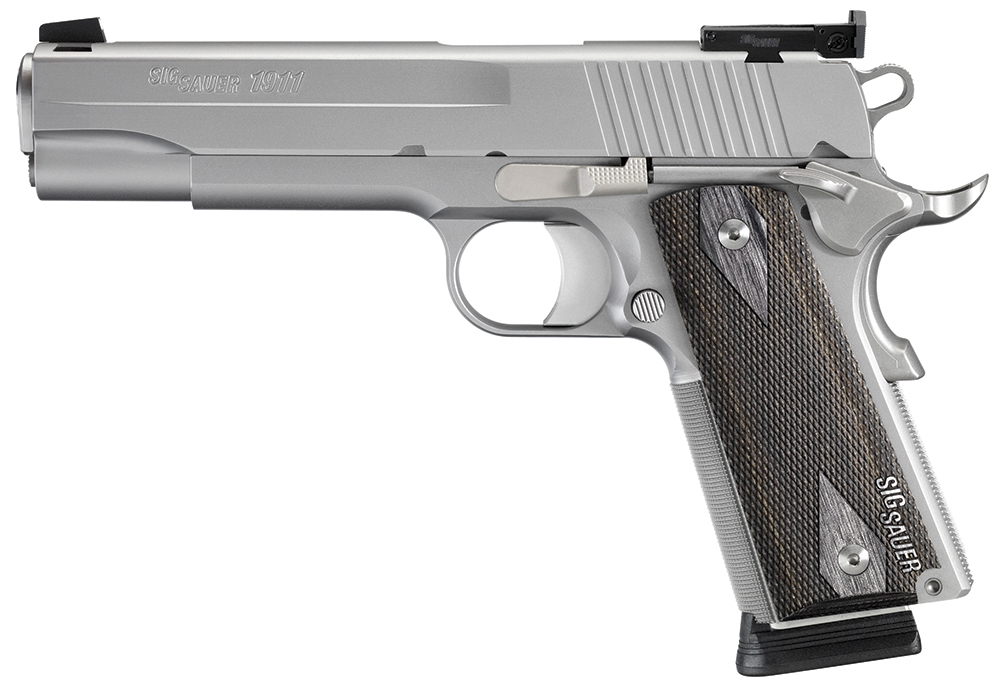 Sig Sauer 1911-45-S-TGT-CA 1911 Target Stainless