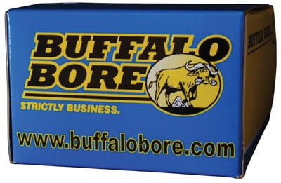 Buffalo Bore 19A/20 357 Mag 180 GR Hard Cast Flat