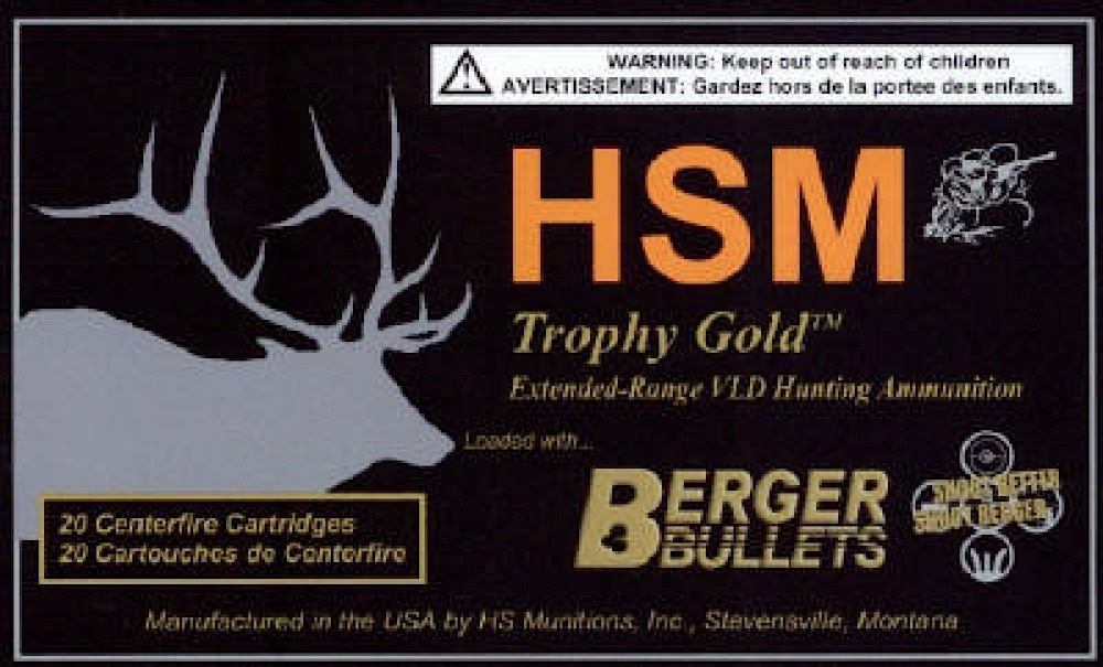 Hsm Trophy Gold 338 378 Weatherby Magnum Open Tip Match 300 133 00