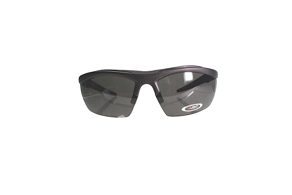 fbb941405a Wiley X Eyewear 4004 Guard Safety Glasses Matte Black Smoke