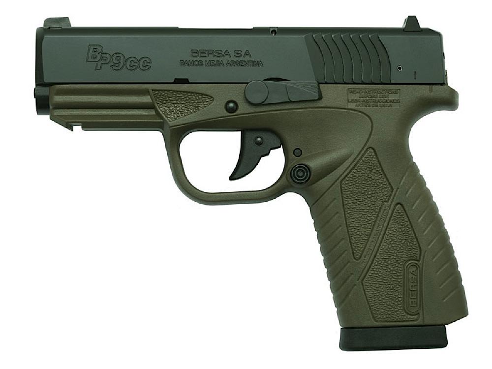 Bersa Bp9mcc Bp9 Concealed Carry 81 9mm 33 30700