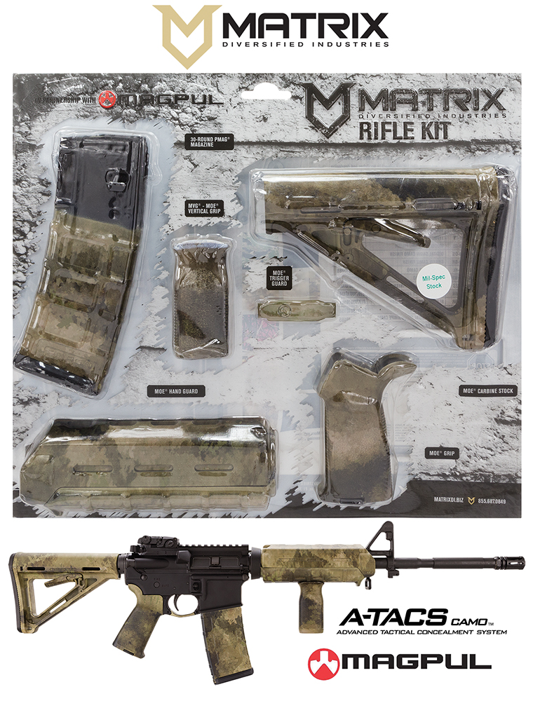 Mdi Magmil01hd Magpul Milspec Ar 15 Furniture Kit