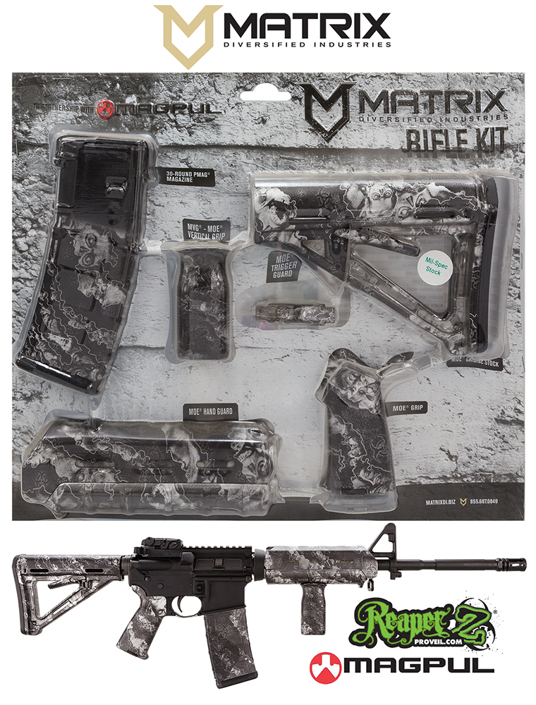 Mdi Magmil19zs Magpul Milspec Ar 15 Furniture Kit