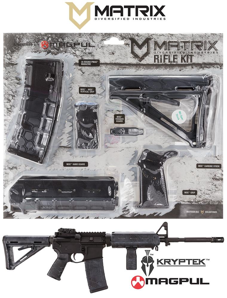 Mdi Magmil37ty Magpul Milspec Ar 15 Furniture Kit Typhon