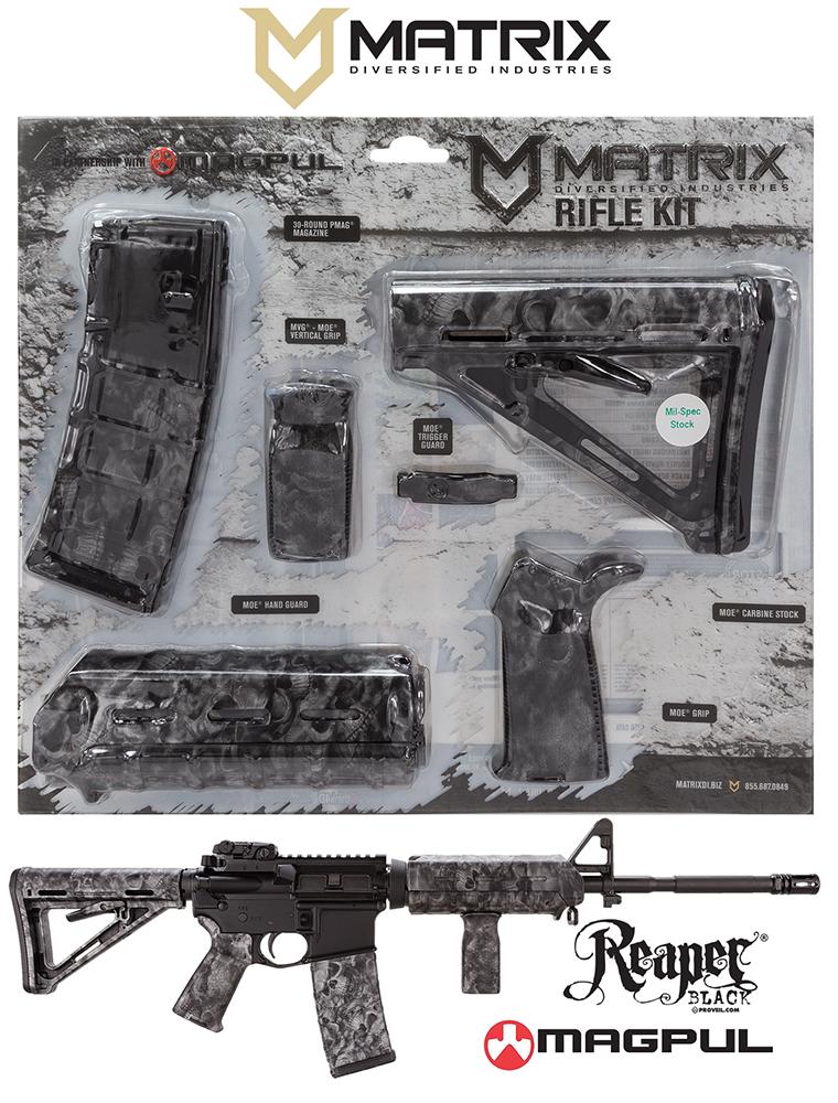 Mdi Magmil21br Magpul Milspec Ar 15 Furniture Kit Reaper Z