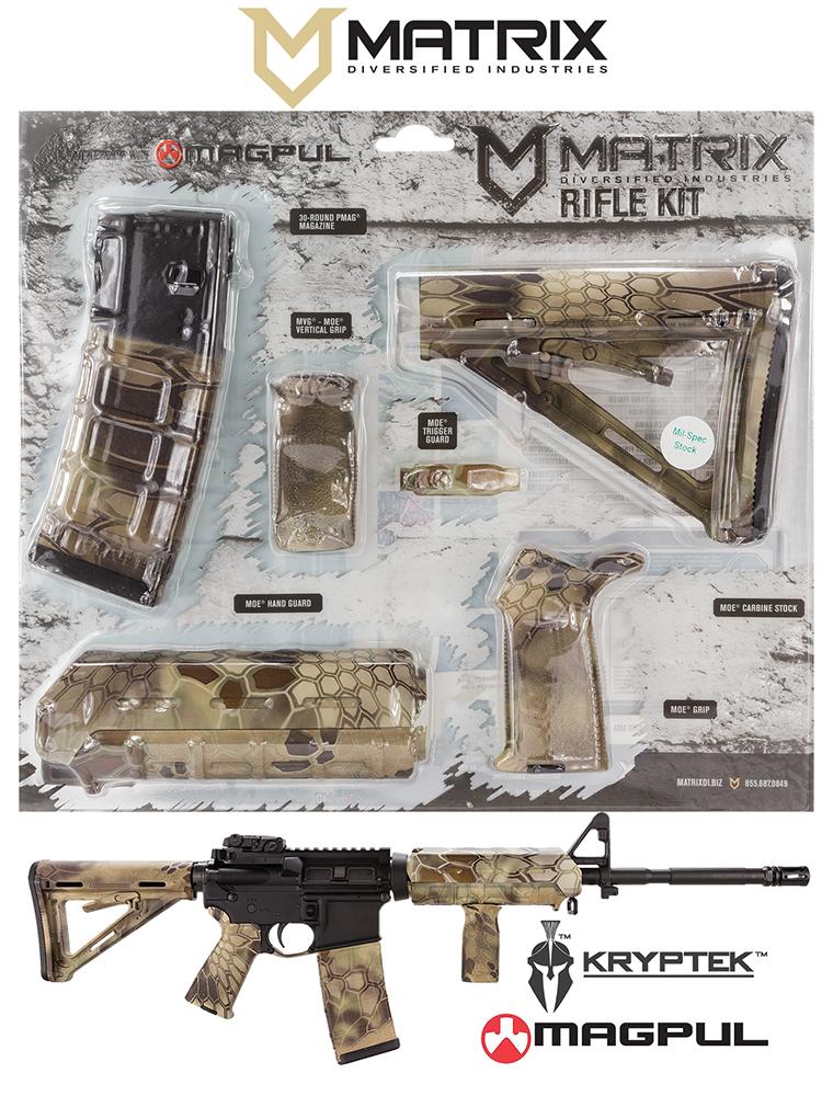 Mdi Magmil41hl Magpul Milspec Ar 15 Furniture Kit