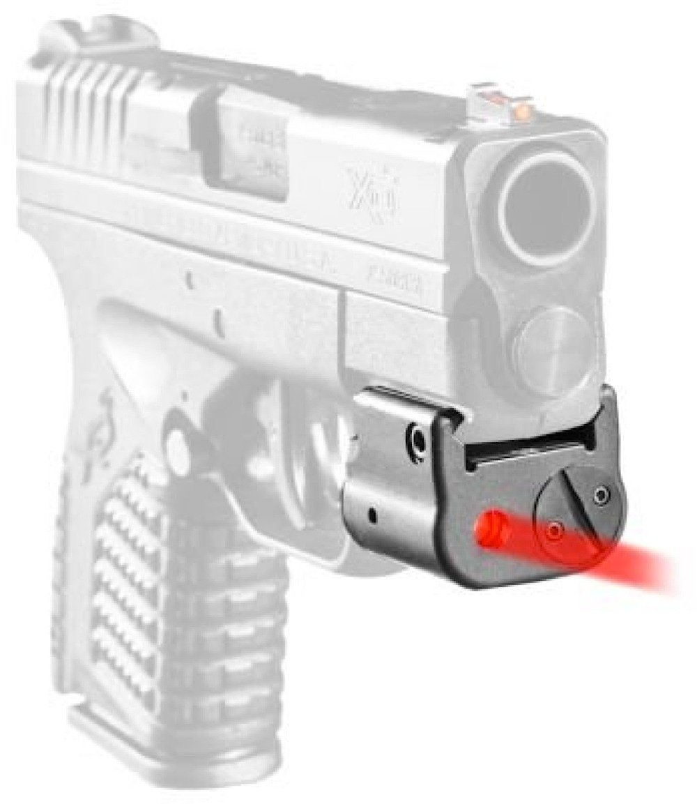 Laserlyte Center Mass Laser Sight For Lcp: LaserLyte CM-MK4 Red Center Mass Red Laser Ring Any Gun W