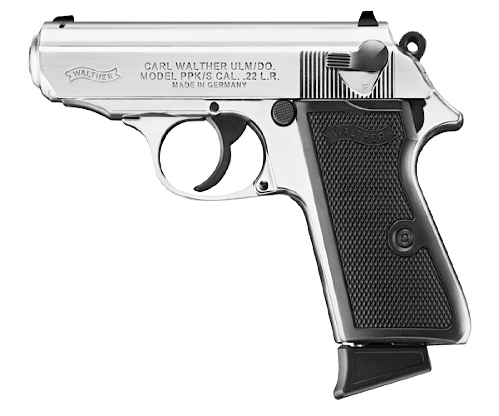 Walther Arms PPK/S .22 LR 3.35\
