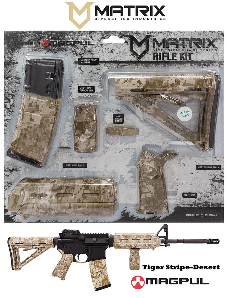 Mdi Magmil23dt Magpul Milspec Ar 15 Furniture Kit