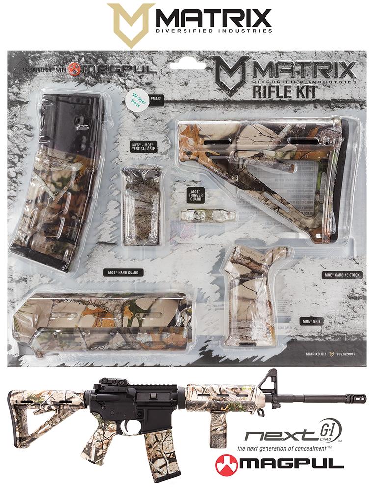 Mdi Magmilnv Magpul Milspec Ar 15 Furniture Kit