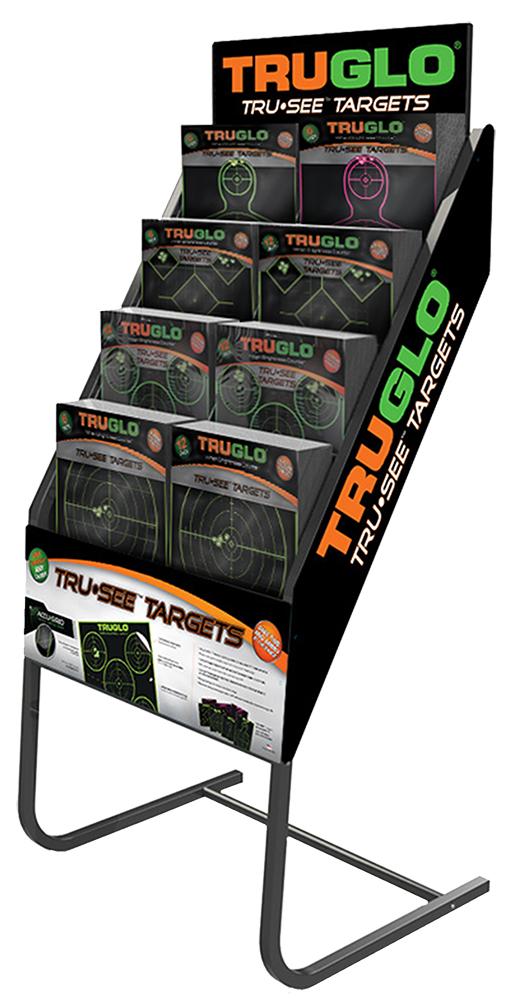 Truglo tg100p1 tru see target display w product 72 packs for 12 gauge shotgun lying on the floor