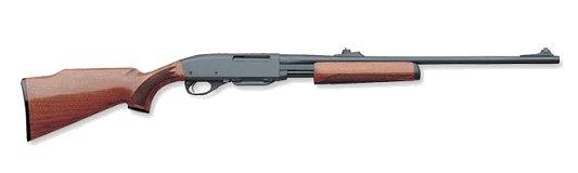 Remington 7600 Pump  243, Satin Walnut, 22