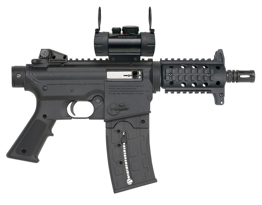Mossberg 715 Pistol  22LR Muzzle Brake Red Dot