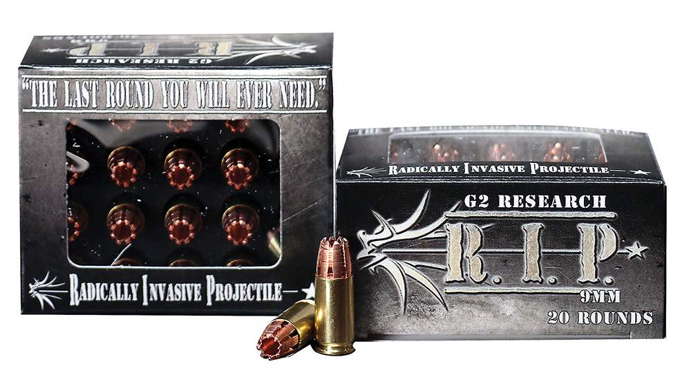 G2R RIP 9MM 92gr Hollow point 20rd box