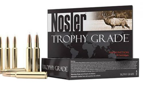 Nosler 60035 Trophy Grade 28 Nosler 160 GR AccuBond 20 Bx/ 10 Cs