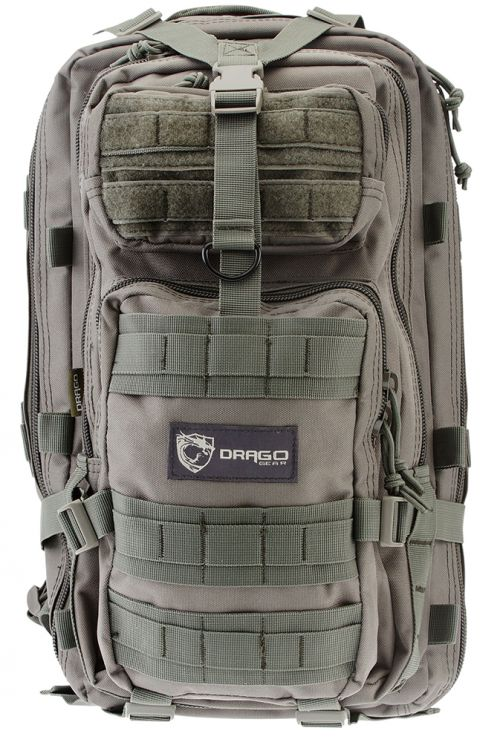 5a08b2a58a5b Drago Gear 14301GY Tracker Backpack 600D Polyester 18