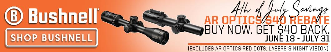Bushnell Rebate - AR Optics $40 Rebate